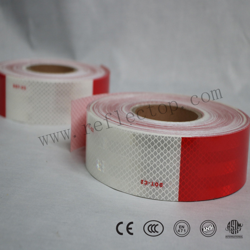 Warning Retro Reflective Marking Tape For Vehicle