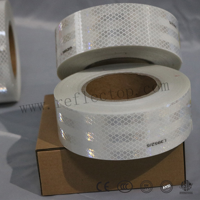 PET conspicuity reflective tape
