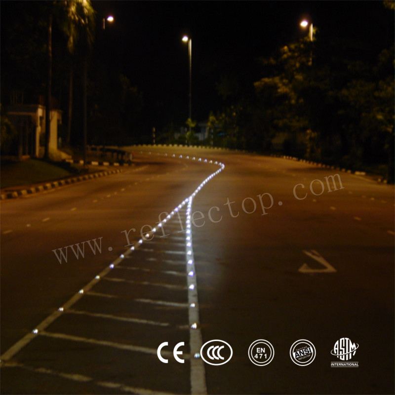 Reflective Aluminum Road Safety Stud