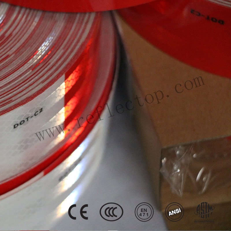 DOT-C2 Reflective Conspicuity Tape Red/White
