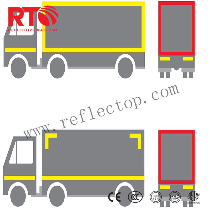 ECE Reflective tape for vehicle