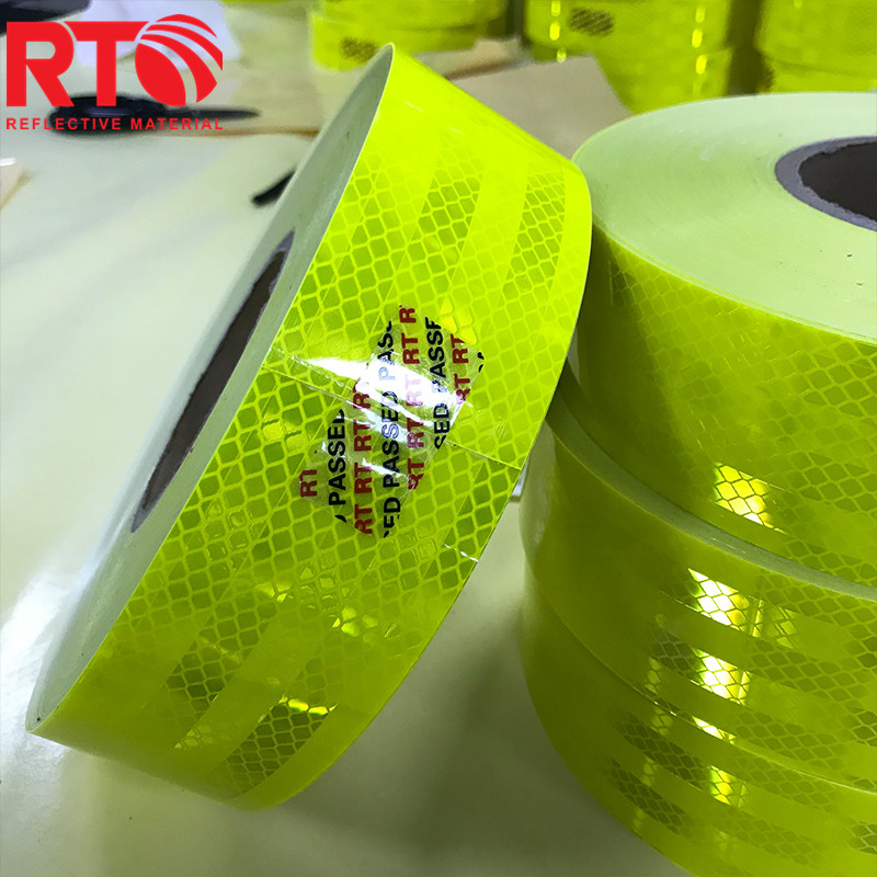 Lime Yellow Reflective tape