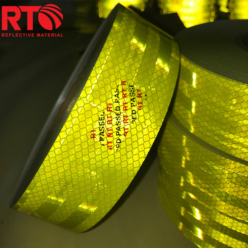 3M Fluorescent Yellow Green reflective tape