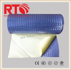 Metallized reflective sheeting for vehicle