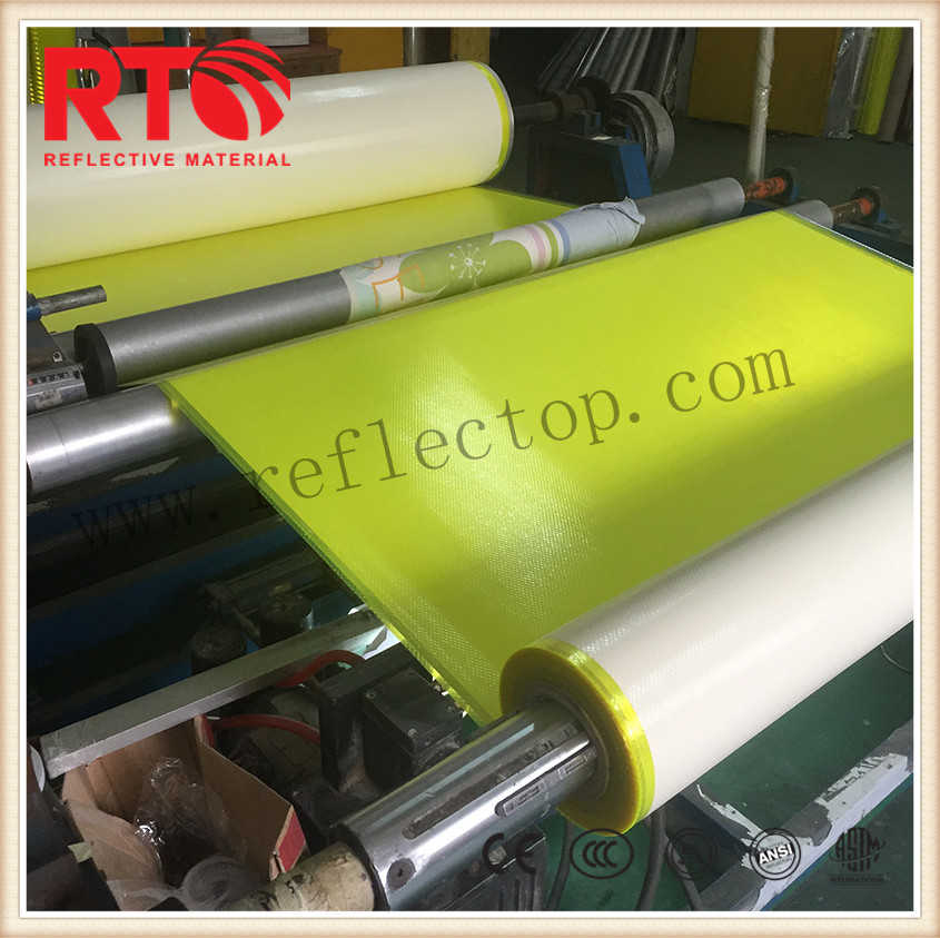 Prismatic reflective sheets for eco solvent printing