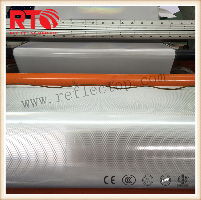 Soft Prismatic reflective sheeting for printing
