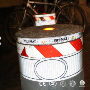 hazard reflective film