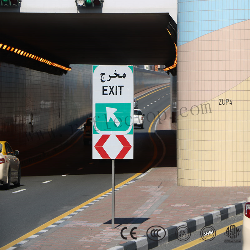 HIG reflective sheeting for traffic signs