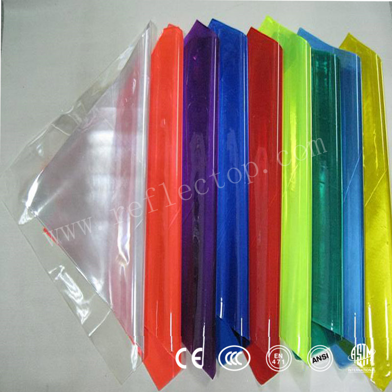 Microprismatic Reflective PVC sheet