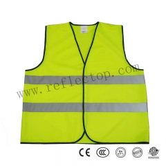 High Visible Yellow Safety Vest