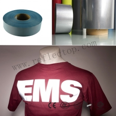 reflective heat transfer vinyl