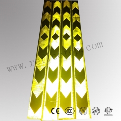 Pvc warning reflective tape for vehicle